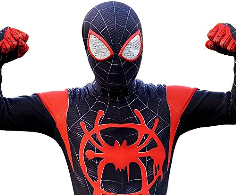 2XL Reshiny Superhero Cosplay Unisex Spandex Bodysuit Jumpsuit 3D Costume Adult