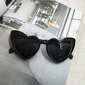 Sunyan belle lunettes de soleil en forme de cœur. Lunettes de Harajuku Lovers soeur douce marée féminin,white