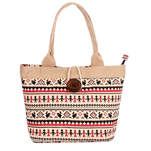 Hipytime BHB880426C7 Fashionable Canvas Leisure Women's Handbag,Vertical Section Square Lock - Dolce Macy's Gabbana