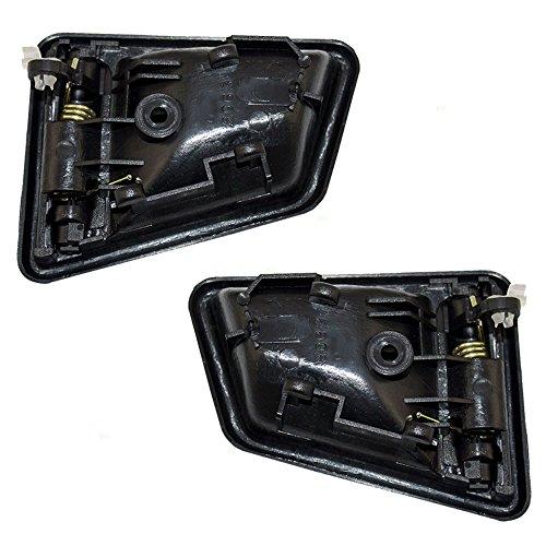 Pair set inside door handles textured replacement for 4 Suzuki samurai exterior door handle