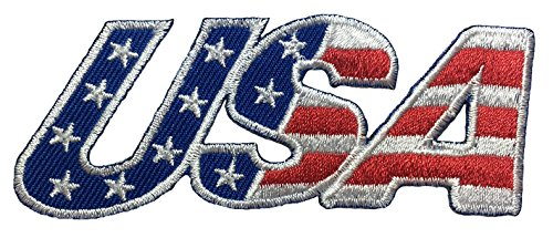 Usa American Alphabet Flag Patch Sew Iron On Applique Embroidered Emblem Badge Patch By Thaivintage  8 Pieces