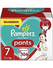 Pampers Baby-Dry Pants Byxblöjor månadslåda