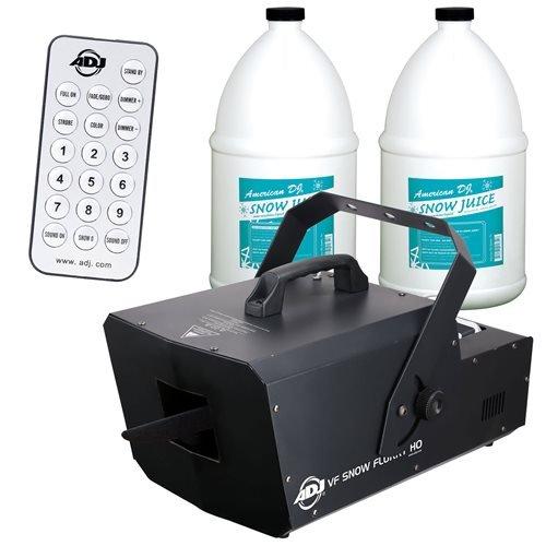 ADJ American DJ VF Snow Flurry Snow Machine w 2 Fluids & - Machine Dj American Snow