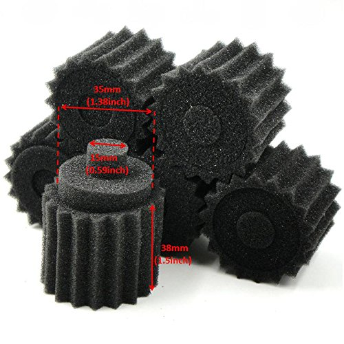 6pcs NEW 1/8 RC Nitro Engine Buggy Air Dust Filter External Sponges accessories