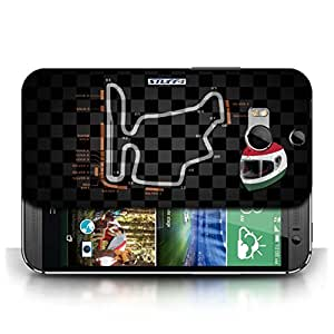 KOBALT? Protective Hard Back Phone Case / Cover for HTC One/1 M8 | Hungary/Budapest Design | 2014 F1 Track Collection