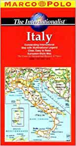 Road Map of Italy. Easy to Read Maps for Safe and Enjoyable Travel