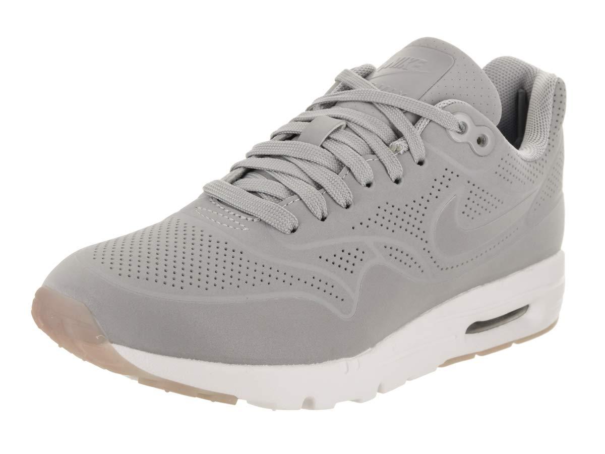 Nike Women's Air Max 1 Ultra Moire Wolf GreyWolf GreyWhite Running Shoe 6 Women US
