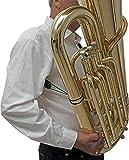 BG T03 Tuba Strap, Shoulder, 2 Attachments