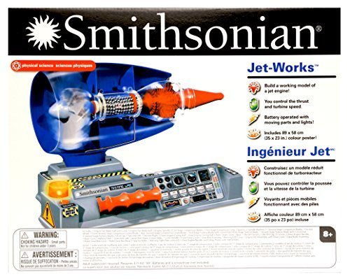 Smithsonian 82902 Jet Works Mechanical Science 8+ Age