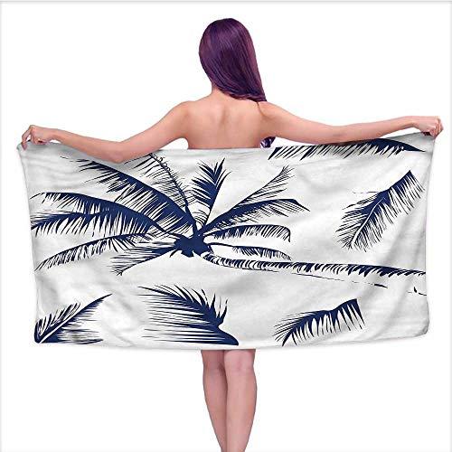 Ediyuneth Print Bathroom Accessories Set Psychedelic,Coconut Palm Tree,W10