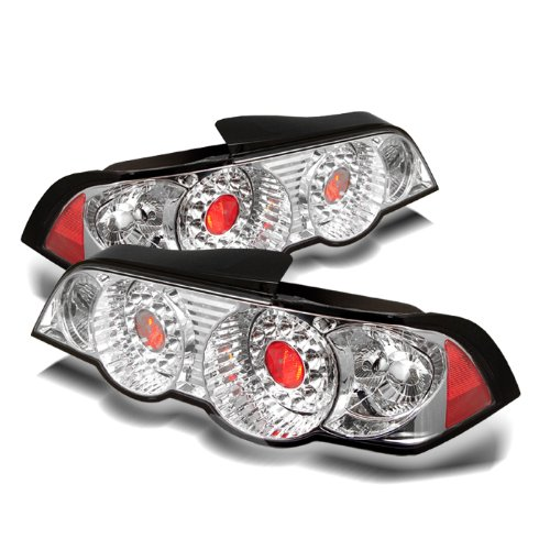 Redlines TL-ARSX02-LED-CH Chrome Medium LED Tail Light for Acura RSX '02-'04 and Lexus Altezza - (Arsx02 Led)