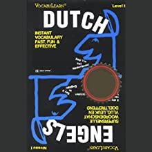 VocabuLearn: Dutch, Level 1 Audiobook by Penton Overseas Inc. Narrated by uncredited