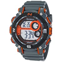 Reloj deportivo con banda gris de Armitron Sport 40 /8284ORG para hombres