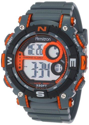 Armitron Sport Men's 40/8284ORG Sport Watch with Grey (Armitron Sport Watches)