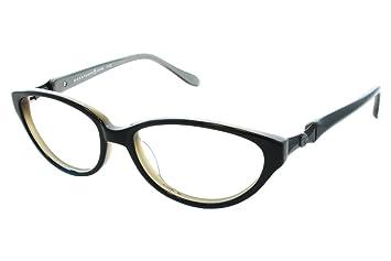 Marvelous Max Studio 111Z Womens Eyeglass Frames   Black Grey
