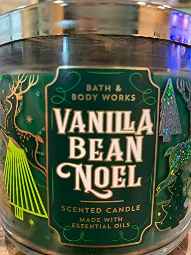 Vanilla Bean Noel Candle Bath & Body Works Large 3-Wick Scented Candle 14.5 oz (Noel Candle)