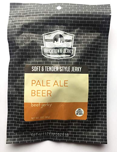 Pale Ale Beer Soft and Tender Style Best Beef Jerky - 3 PACK - Try Our Best Tasting Soft Beef Jerky - 9 total oz.