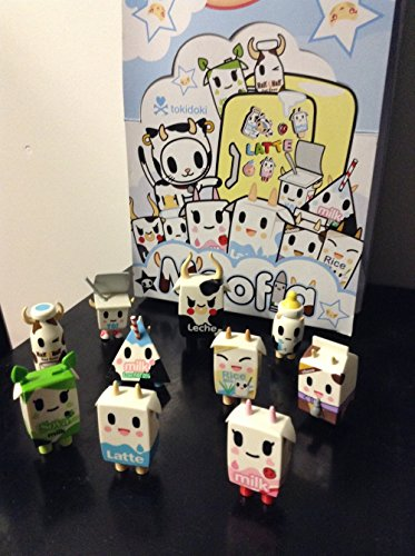 Moofia Mozzarella - Tokidoki Mozzarella's Moofia Milk Collectibles Latte leche all 10 figures