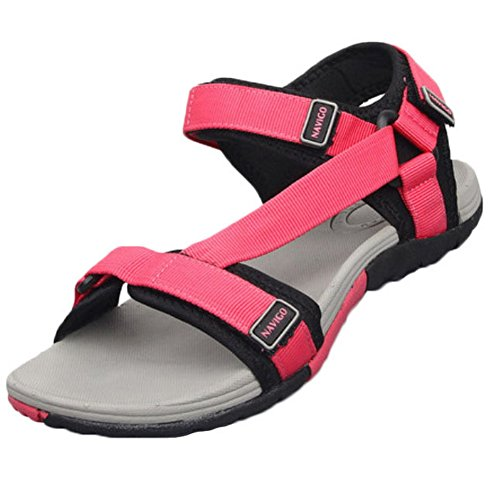 Male Slippers - Women's Sandals Shoes - Man's Sandals -- Pink xRpNL
