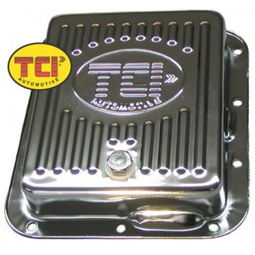 TCI 518011 Chrome-Plated Steel Transmission - C4 Pan Transmission