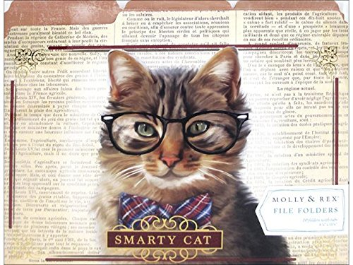Molly & Rex File Folder Smarty Cat 10pc
