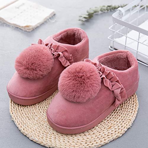 Casa Indoor Da Donne Soffice Memory Piatto Pantofole Carino Non Peluche Foam Caldo Inverno Dark Morbide Pink Fondo Donna Scarpe Slip 6wqEcTxOR