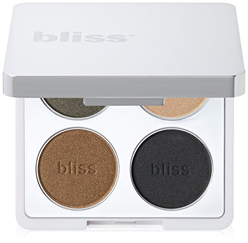 bliss Hey Four Eyes 4 Piece Eyeshadow Palette, Sage Quad, 0.24 (Eye Shadow Sage)