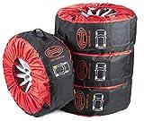 HEYNER H735100 SUV WheelStar spare wheel storage bags protective covers 16'-22', Set of 4