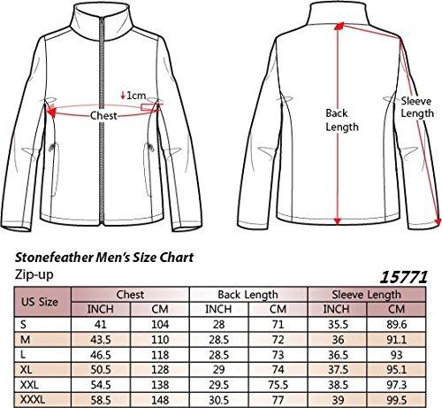 STONEFEATHER Feather Sleeve Fleece Jacket