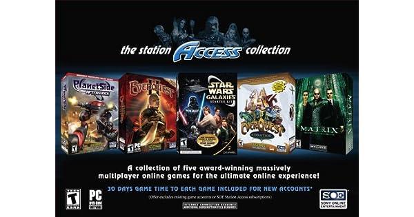 Amazon com: Station Access Collection (Matrix Online, Everquest