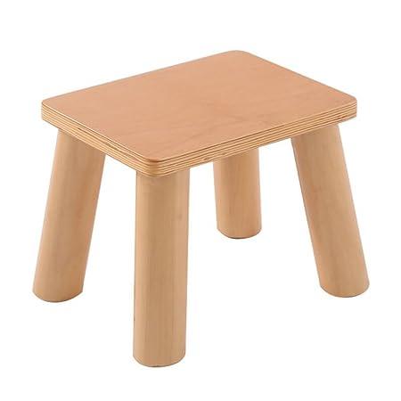 Groovy Xuan Worth Having Wood Color Four Legged Stool Square Shoe Ibusinesslaw Wood Chair Design Ideas Ibusinesslaworg
