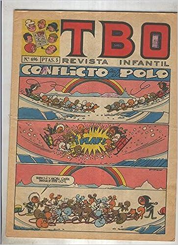 TBO numero 696: Conflicto en el polo (Moreno): Amazon.es: Varios ...