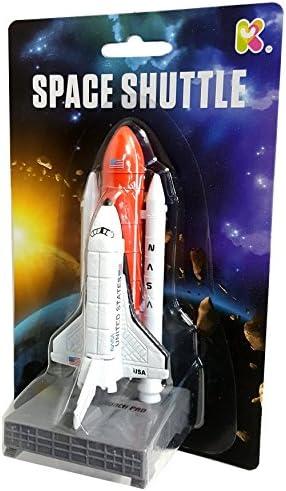 [해외]Blue Frog Toys 12CM DIECAST Space Shuttle and Rocket / Blue Frog Toys 12CM DIECAST Space Shuttle and Rocket