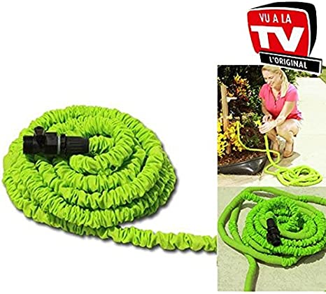 Pocket Hose Manguera Extensible y Retráctil, 7.5m, Verde: Amazon.es: Jardín