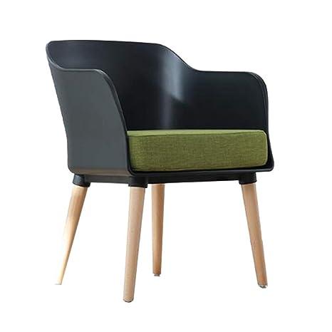 Super Amazon Com Qqxx Chairs Pp Frame Beech Legs Linen Fabric Andrewgaddart Wooden Chair Designs For Living Room Andrewgaddartcom