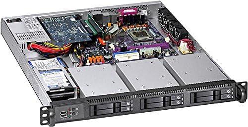 PLINKUSA RACKBUY Aluminum TL-225 BackpLane Tray-less Hot-Swap Cage 1 x 3.5 FDD Space to 2 x 2.5 SAS//SATA 6.0G HD