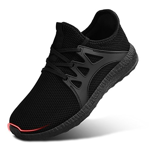 Sneakers QANSI Black Womens Tennis Casual Shoes Athletic Running xwEHqPCwz