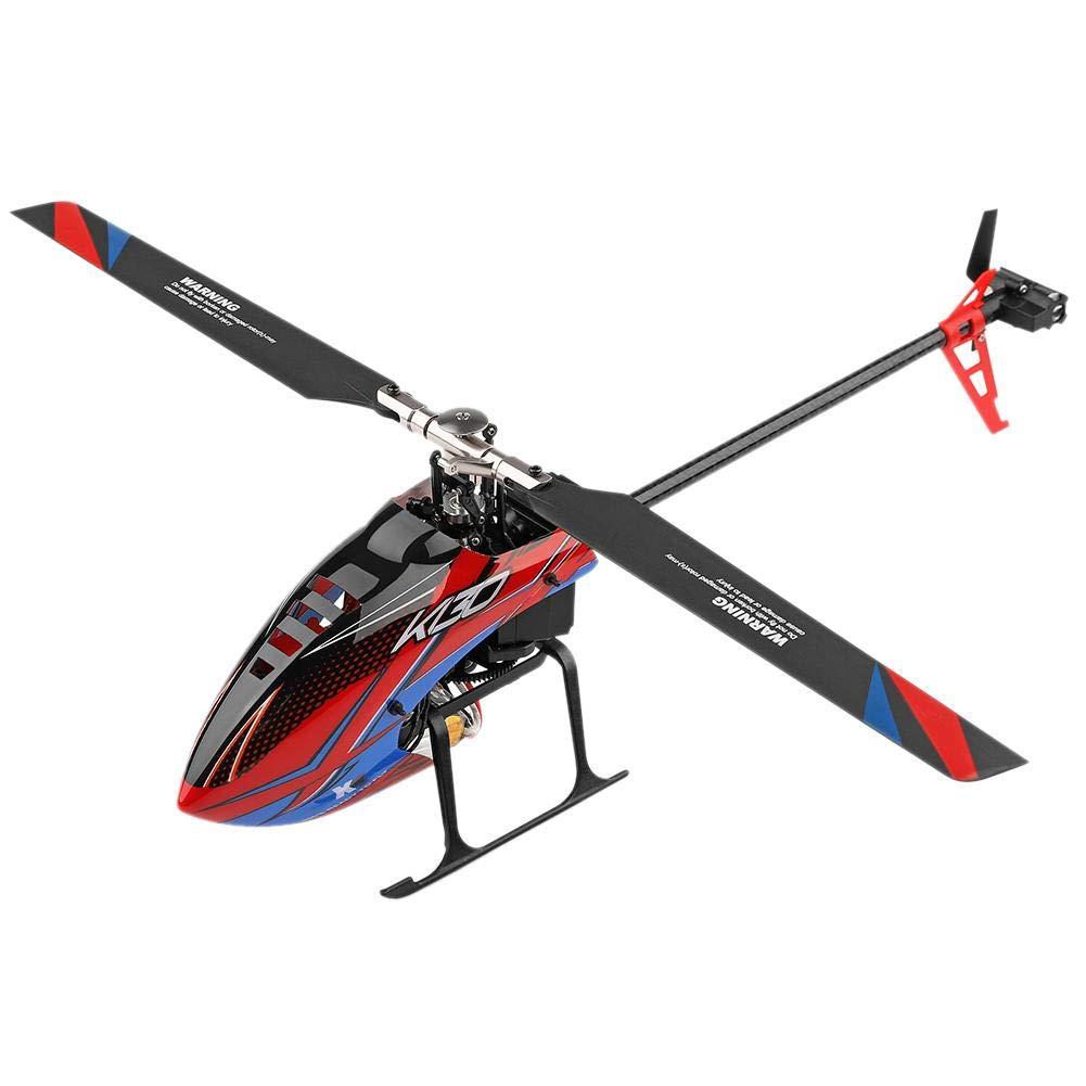 Falliback K130 Fernbedienung Flugzeuge 6-Wege-Einzelpropeller ohne Querruder RC Hubschrauber Modell Spielzeug Fernbedienung Spielzeug Kinder Geburtstagsgeschenk