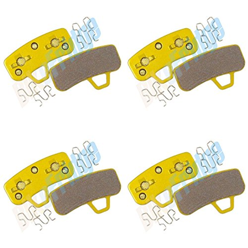 4Pairs 8Pads F1 Sintered Hayes Stroker Ace Disc Brake Pads Bicycle MTB DH XC ()