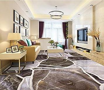 Wapel Fototapete 3D Wandtapete Benutzerdefinierte Größe Tapeten 3D  Bodenbelag Steinboden Fliesen Wandbild Für Wohnzimmer Schlafzimmer  Badezimmer 3D ...