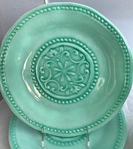 IL Mulino Melamine Set of 4 Salad Plates MINT GREEN