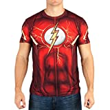 Flash Suit Up Sublimated Costume T-Shirt-XX-Large