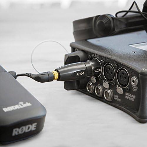 Steckeradapter mit Spannungswandler XLR Mini Klinke TRS Gürtelclip Roder VXLR