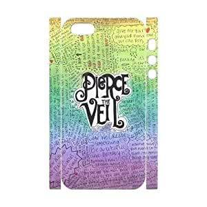 Customized Phone Case with Hard Shell Protection for Iphone 5,5S 3D case with Pierce the veil lxa#7114328