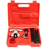 OlogyMart Eccentric Flare Tool Tube Flaring Tool Kit Refrigeration Copper Deburing Bender