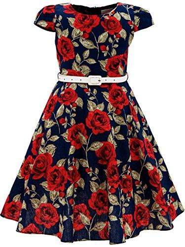 Bonny Billy Girls Classy Vintage Floral  - Vintage Girl Shopping Results