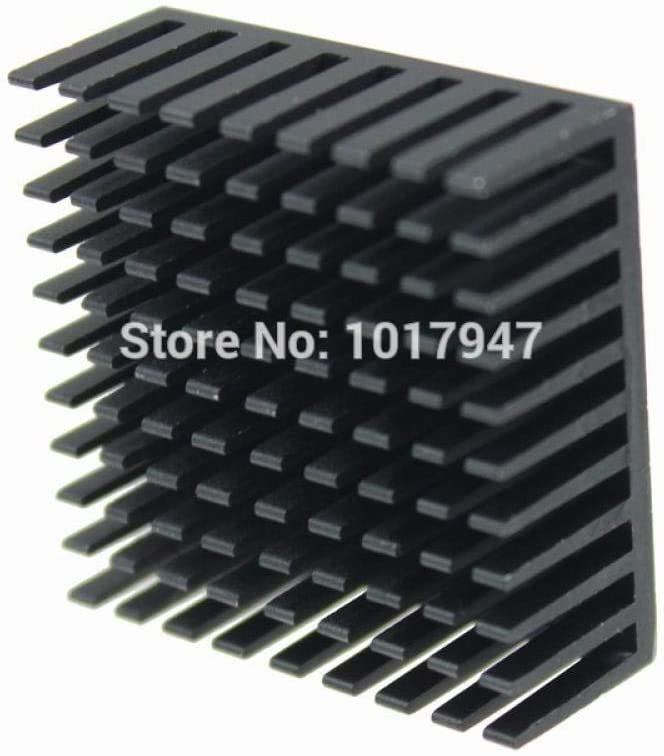 2 Pieces Lot 35x35x14mm Aluminum IC Cooling Cooler Heat Sink Heatsinks