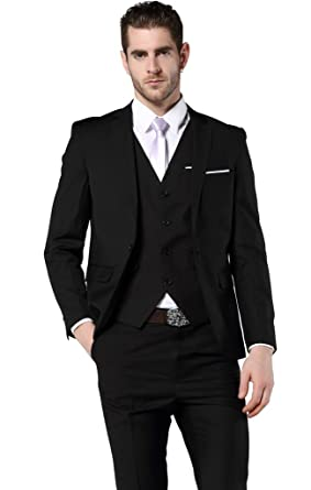 e02b73acfe177 Men's Slim Fit 3 Piece Dress Suits Prom Dress Suit Set US Size 30£¨