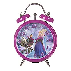 Husky Disney Frozen Mini Twin Bell Alarm Clock