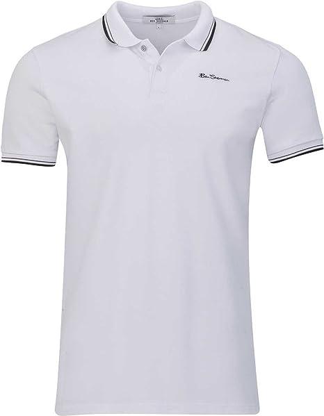 Ben Sherman Polo Logo Shirt, Color: Blanco, Tamaño: 3XL: Amazon.es ...